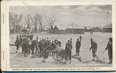 Field Gun Training, Pelham Bay Park Naval Training Station, Bx