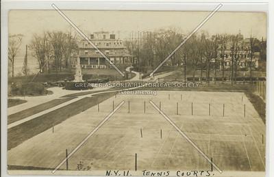 Tennis Courts, N.Y.U, Bx.