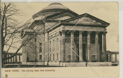 New York University Library, Bx.