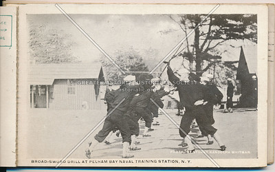 Broad Sword Training, Pelham Bay Park Naval Training Station, Bx
