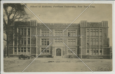 School of Medicine, Fordham University, Bx.