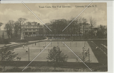 New York University Tennis Courts, University Heights, Bx.