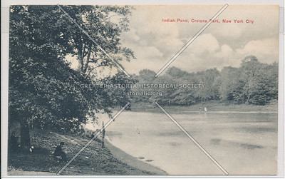Indian Pond, Crotona Park, Bx