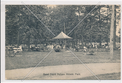 Band Stand, Pelham Athletic Field, Bx