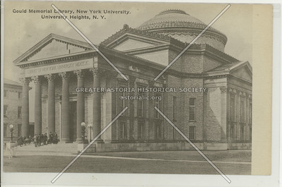 Gould Memorial Library, New York University, University Heights, Bx.
