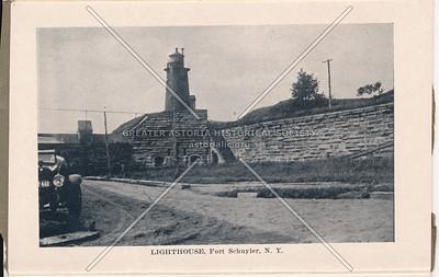 Lighthouse, Fort Schuyler, Bx.
