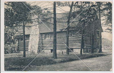 Log Cabin, Pelham Athletic Field, Bx
