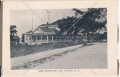 Post Hospital, Fort Schuyler, Bx.