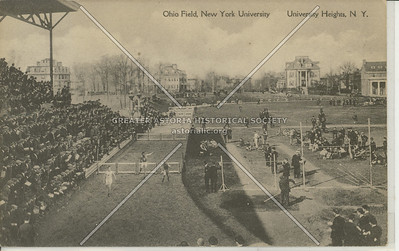 Ohio Field, New York University, University Heights, Bx.