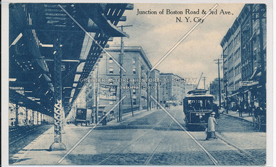 Junction of Boston Road & 3rd Av, Bx
