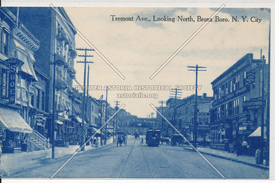 Tremont Ave., Looking North, Bx