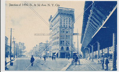 Junction of 149th St. & 3rd Av, Bx.