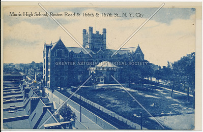 Morris High School, Boston Road & 166th & 167th St., Bx