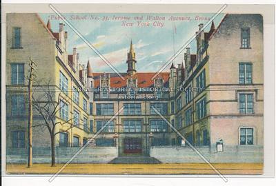 Public School No. 33, Jerome & Walton Avenues, Bronx.