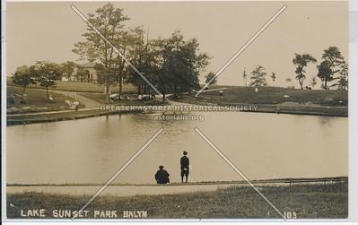 Lake, Sunset Park, BK.
