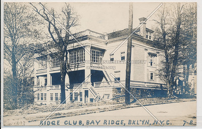 RIdge Club, Bay Ridge, BK.