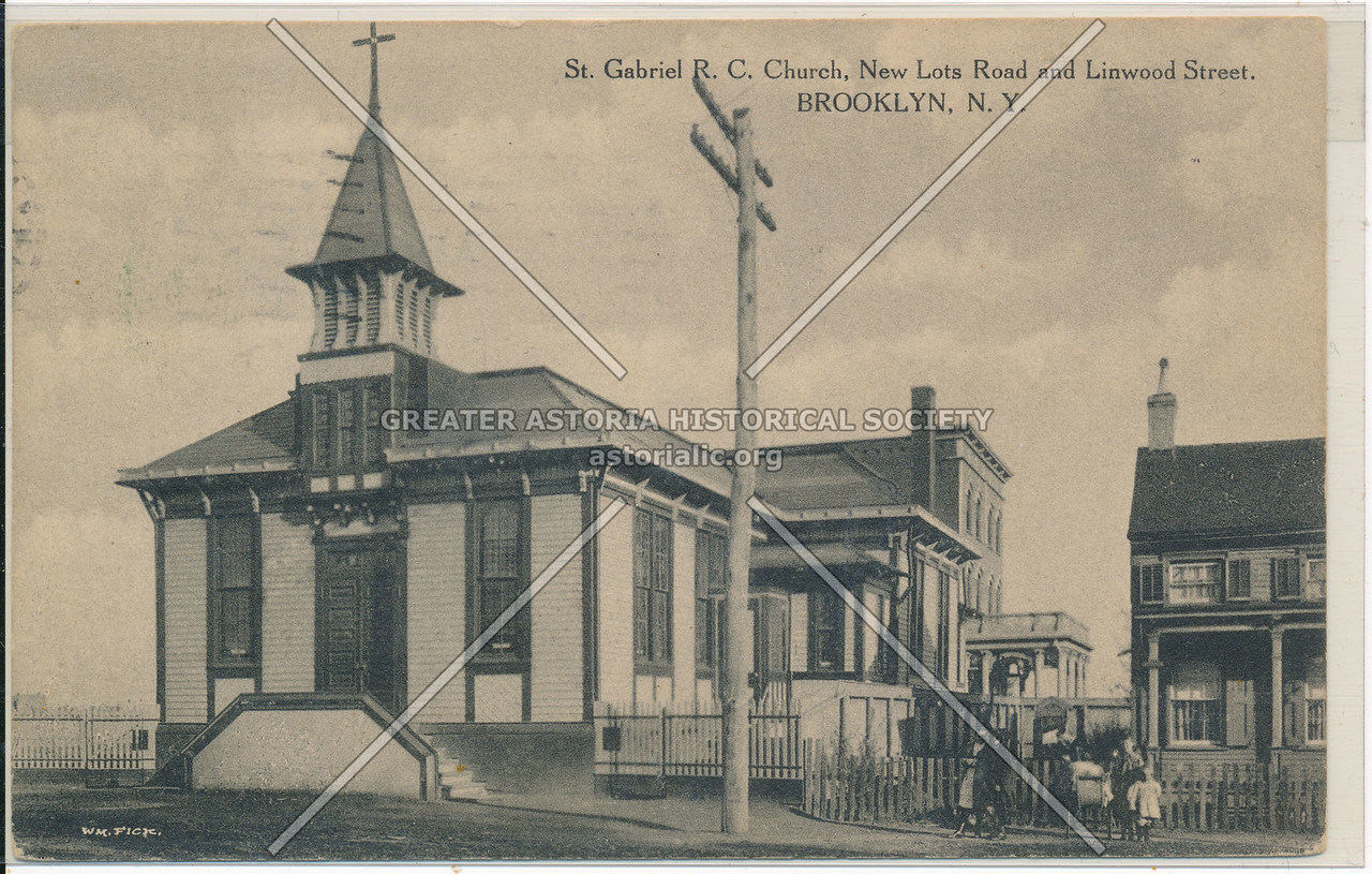 St. Gabriel R.C. Church, New Lots Road & Linwood St., BK.