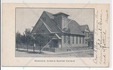Bushwick Ave, Baptist Church, BK.