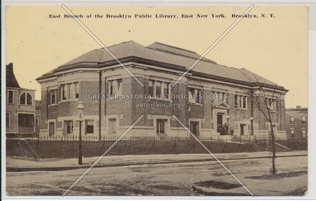 East Branch of the Brooklyn Public Library, East New York, BK.