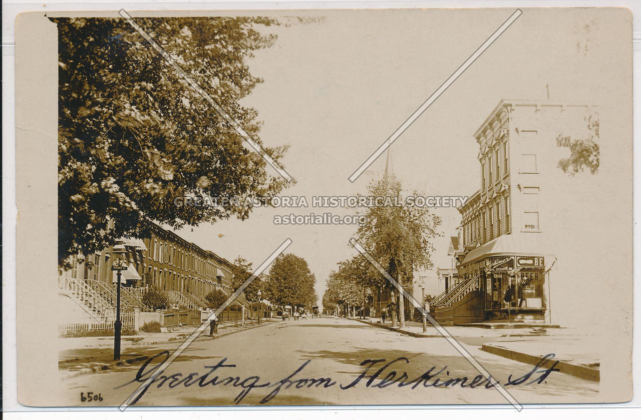 Greeting from Herkimer Street, BK.