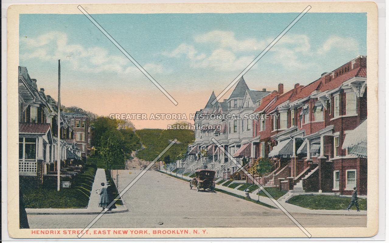Hendrix Street, East New York, BK.