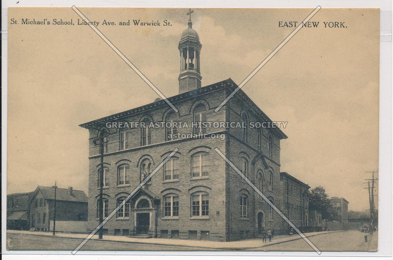 St. Michael's School, Liberty Ave & Warwick St., BK.