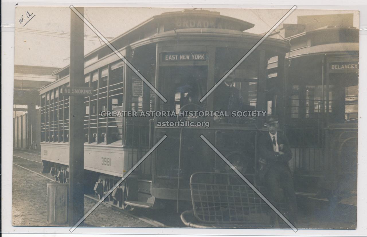 East New York Bound Train, BK.