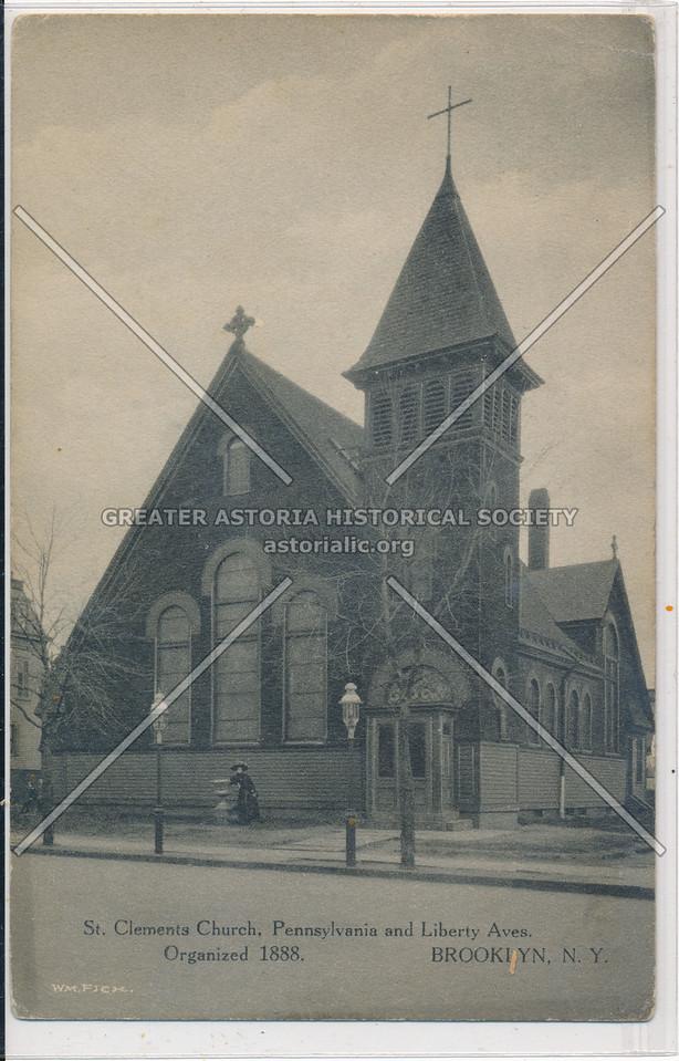 St. Clements Church, Pennsylvania & Liberty Aves., BK.