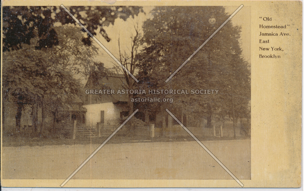 Old Homestead, Jamaica Ave, East New York, BK.