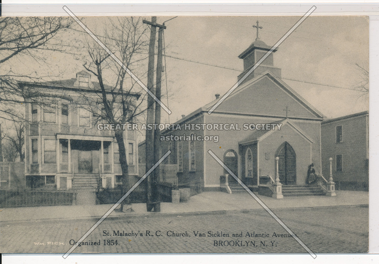 St. Malachy's R.C. Church, Van Sicklen & Atlantic Aves., BK.