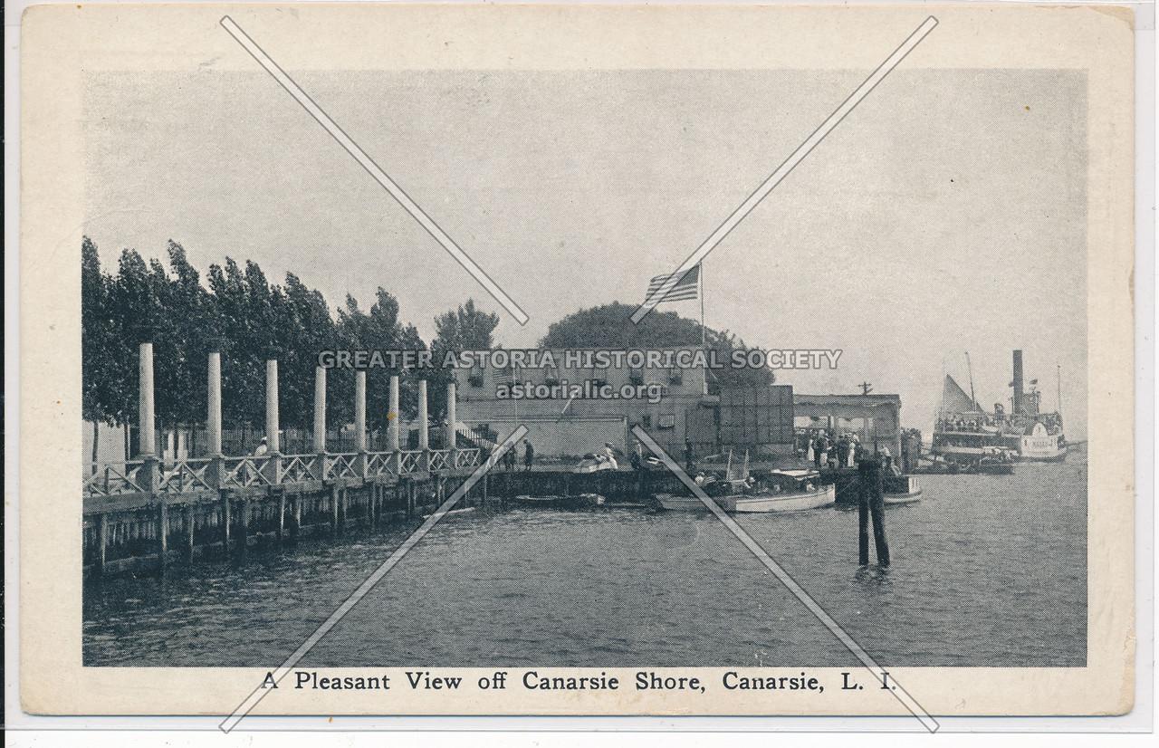 A Pleasant View off Canarsie Shore, Canarsie, BK.
