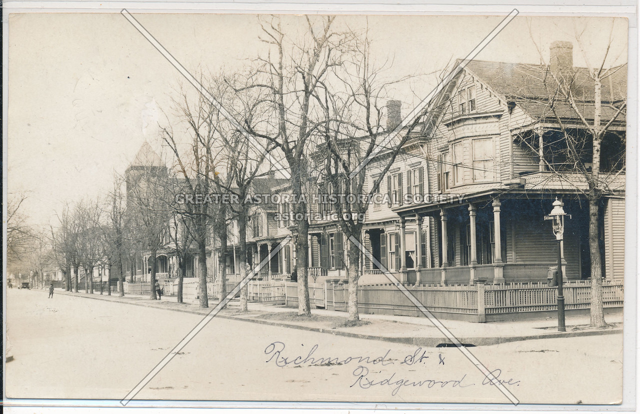 Richmond Street & Ridgewood Ave., BK.