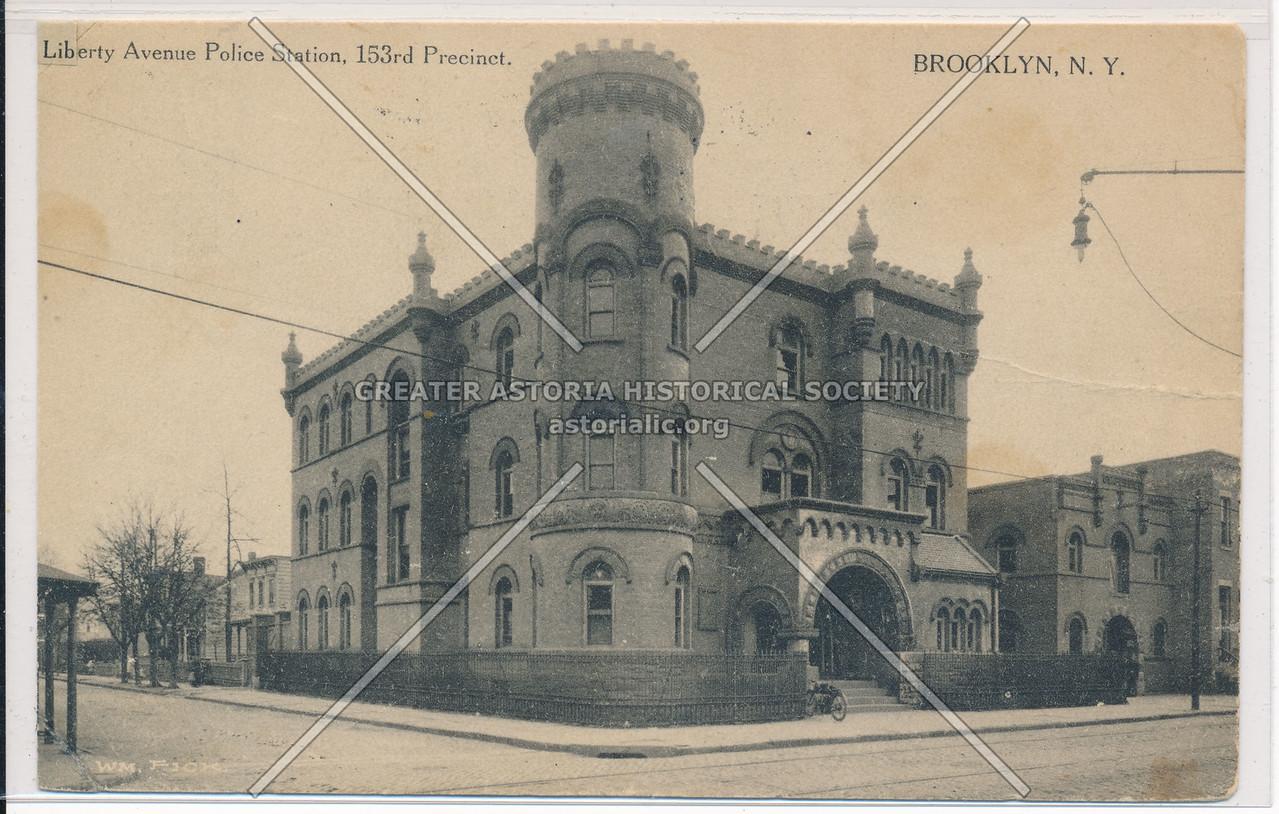 Liberty Avenue Police Station, 153rd Precinct, BK.