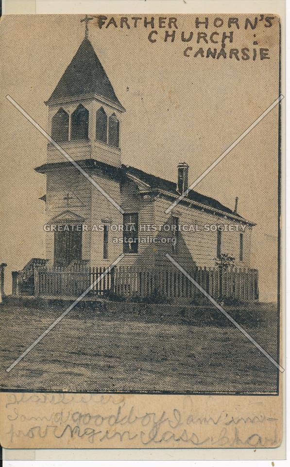 Farther Horn's Church, Canarsie, BK.