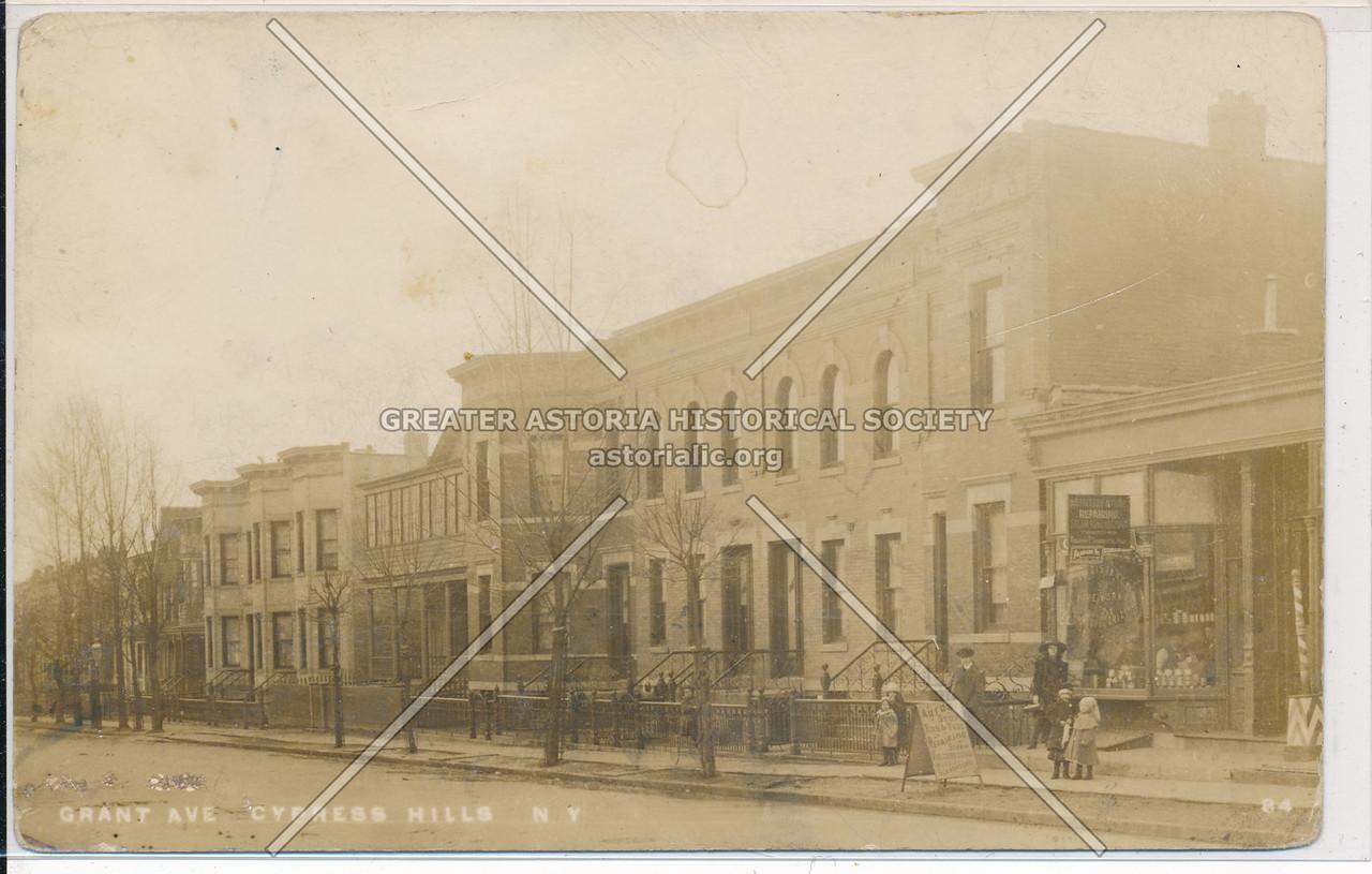 Grant Ave., Cypress Hills, BK.