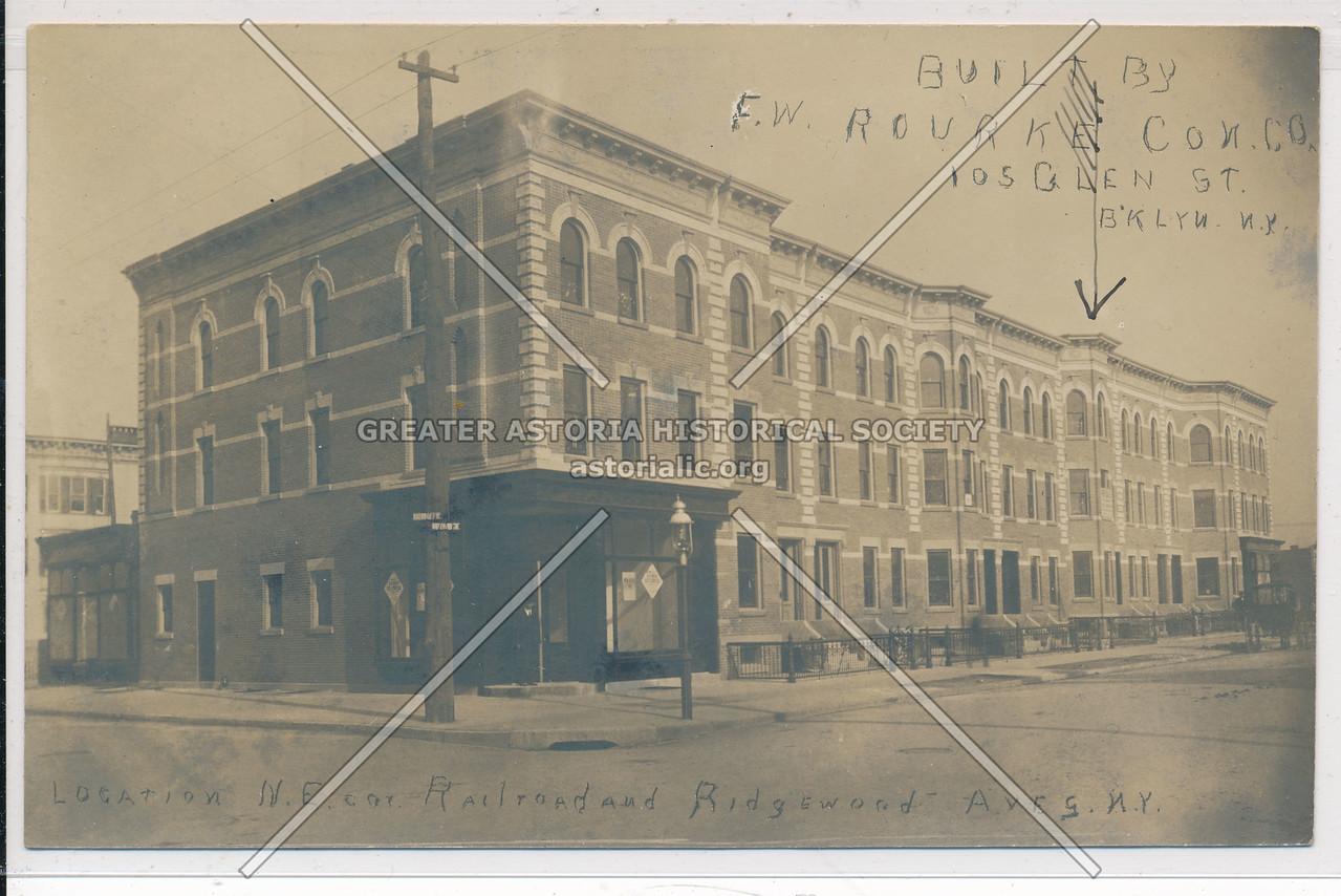 Railroad & Ridgewood Aves., BK.
