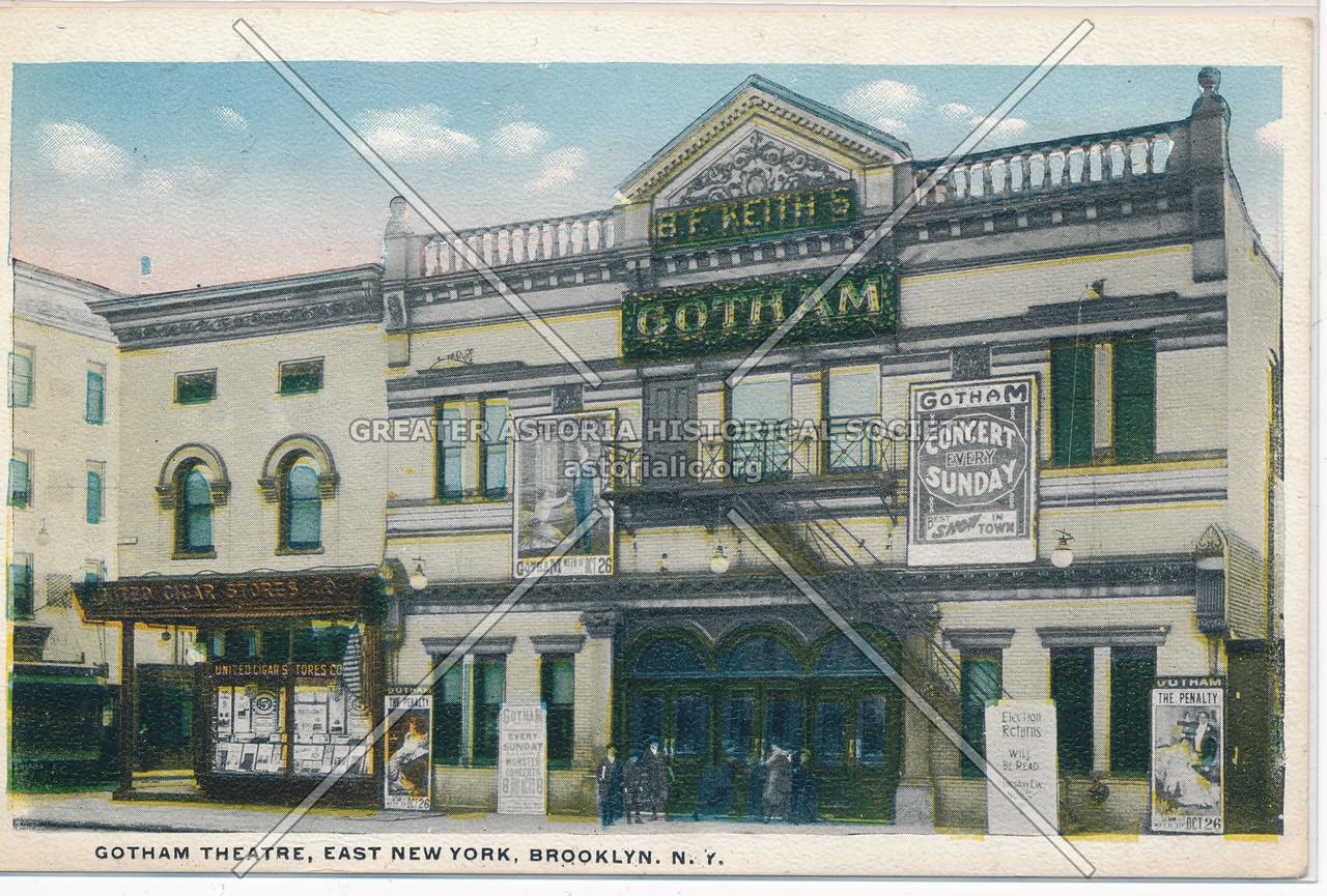 Gotham Theatre, East New York, BK.