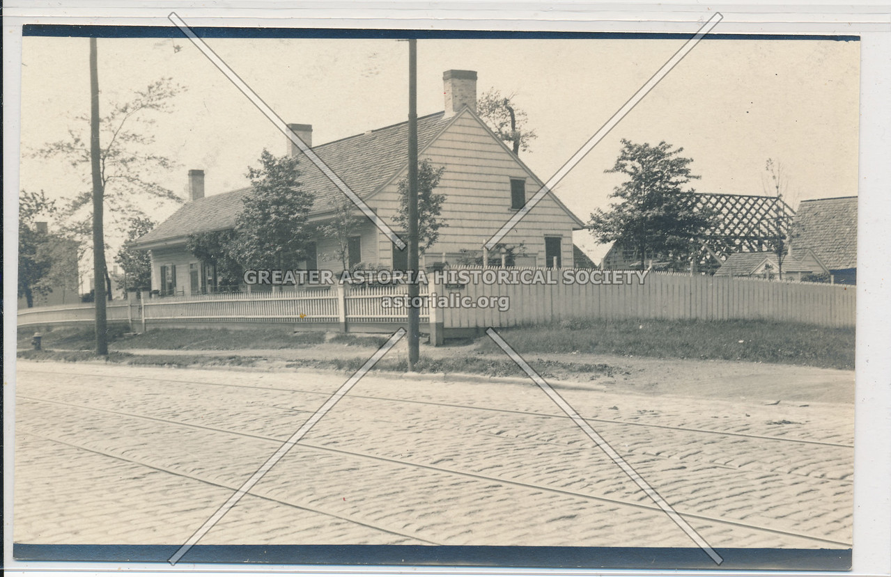 Schenk-Wyckoff House, 1325 Flushing Ave, Bushwick, BK.