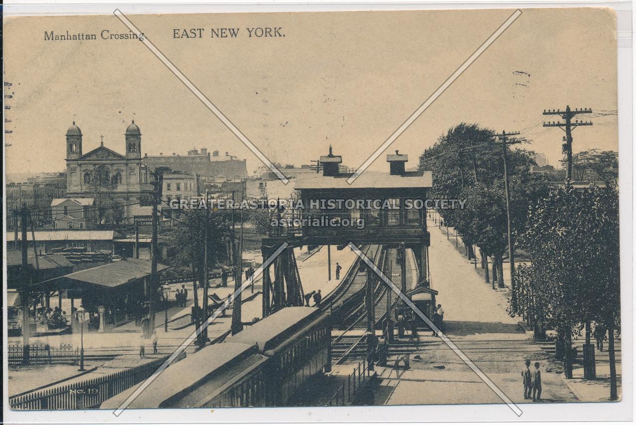 Manhattan Corssing, East New York, BK.