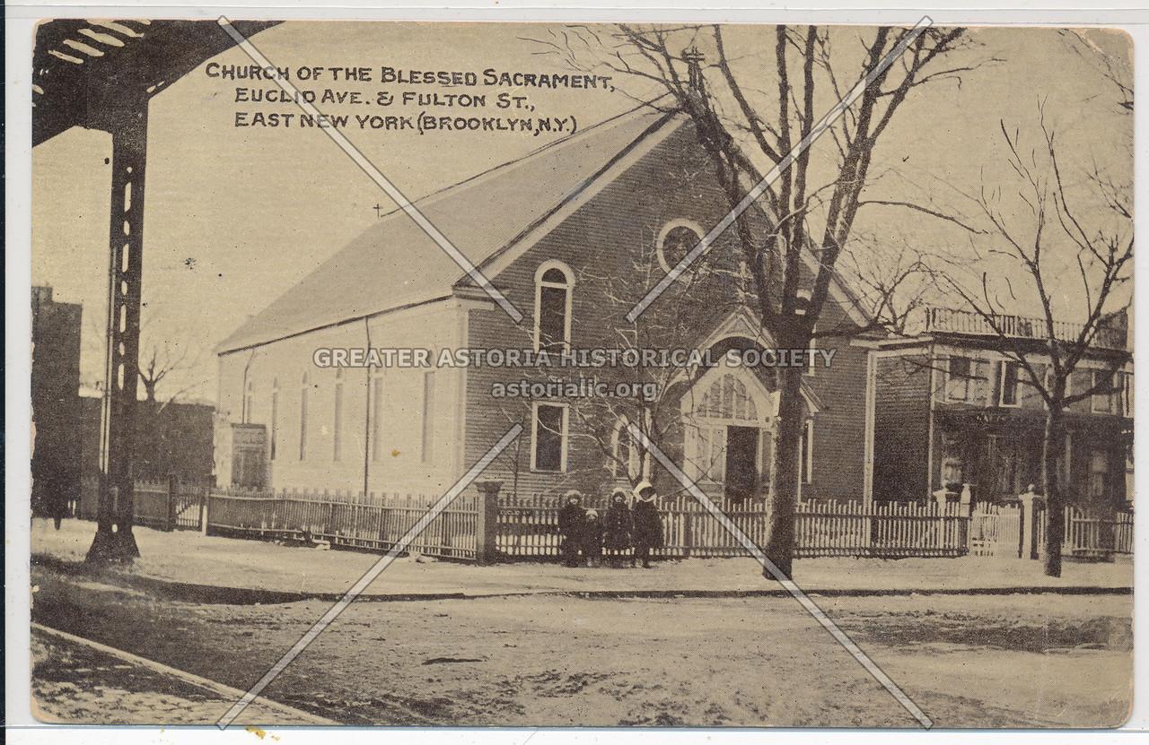 Church of the Blessed Sacrament, Euclid Ave & Fulton St., East New York, Bk.