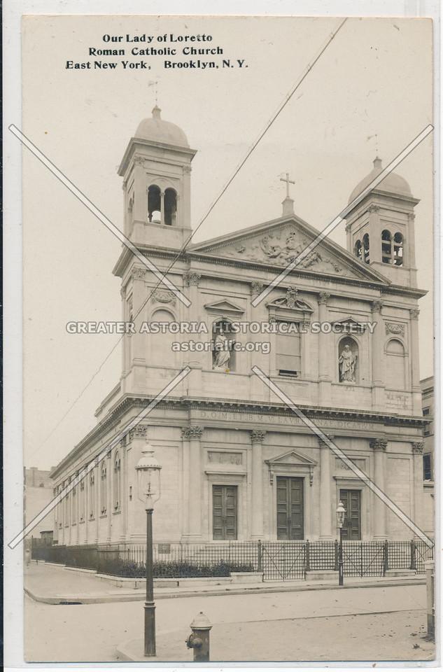 Our Lady of Loretto, Roman Catholic Church, East New York, BK.