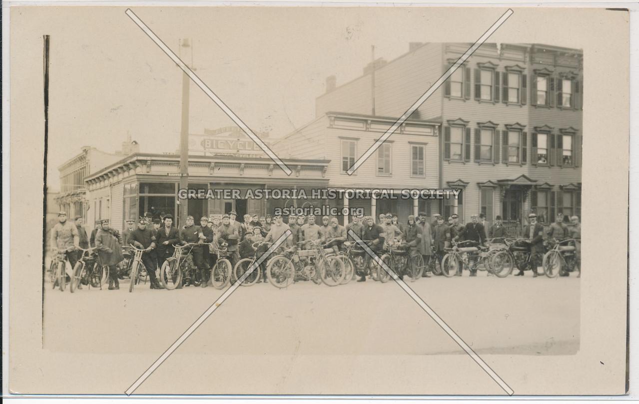 Bicycle Store, Bushwick Ave & Stewart Ave, BK.