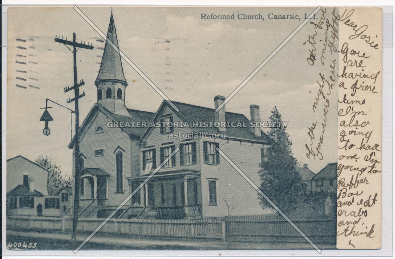 Reformed Church, Canarsie, BK.