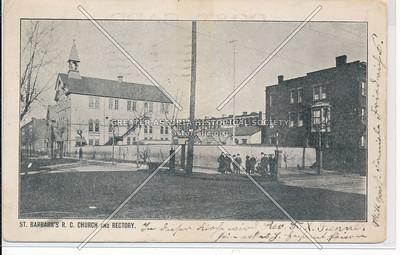 St. Barbara's R.C. Church & Rectory, BK.
