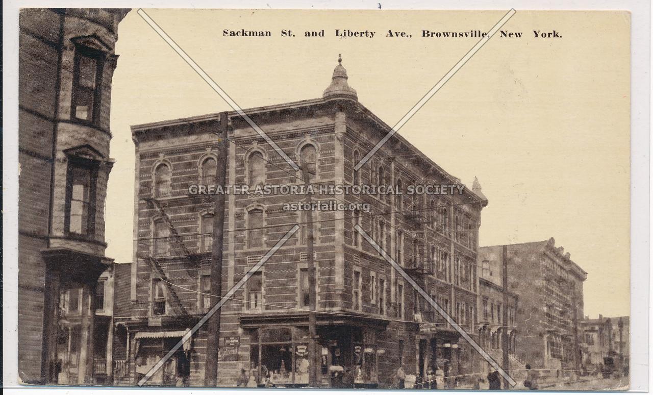 Sackman St. & Liberty Ave., Brownsville, BK.