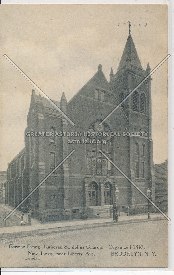 German Evang. Lutheran St John Church, BK.