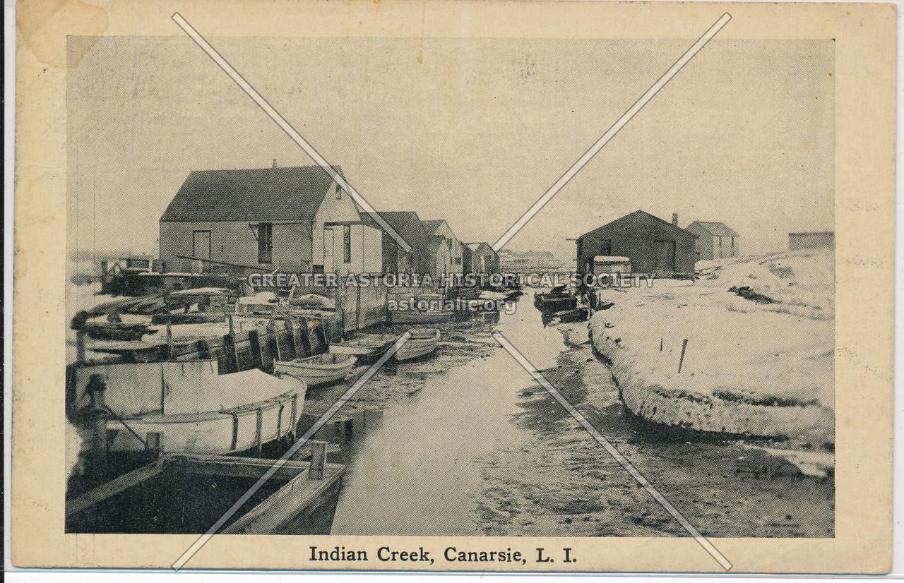 Indian Creek, Canarsie, BK.