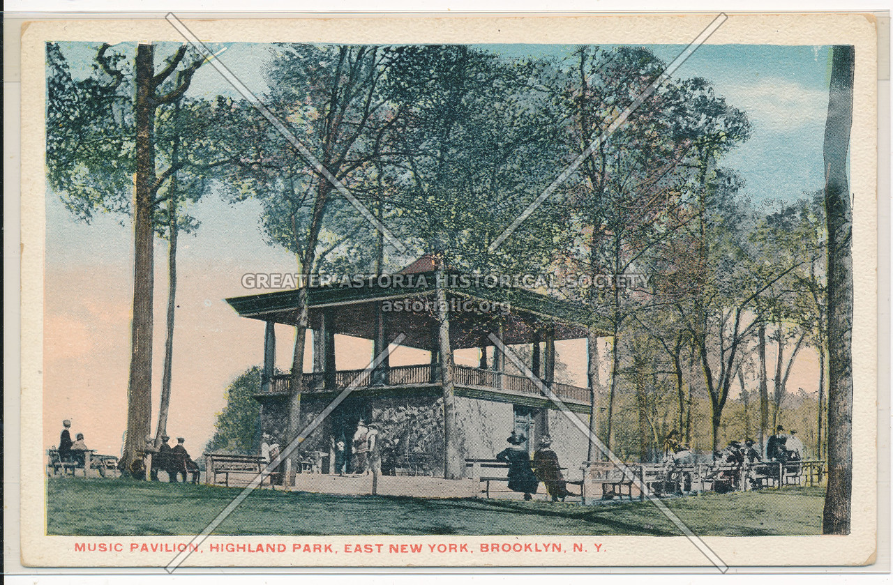Music Pavilion, Highland Park, East New York, BK.