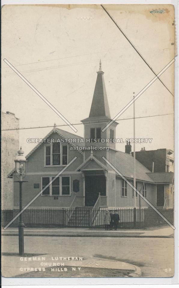 German Lutheran Church, Cypress Hills, BK.