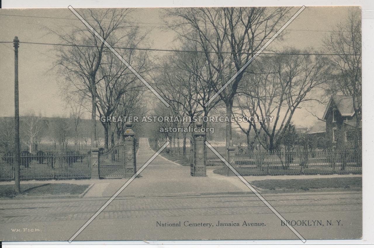 National Cemetery, Jamaica Ave., BK.